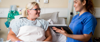 Nurses go digital to improve patient experience