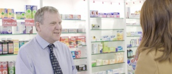 Richard Evans - Community pharmacist