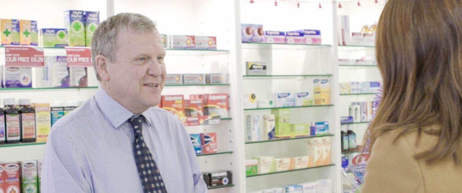 Richard Evans - Community pharmacist