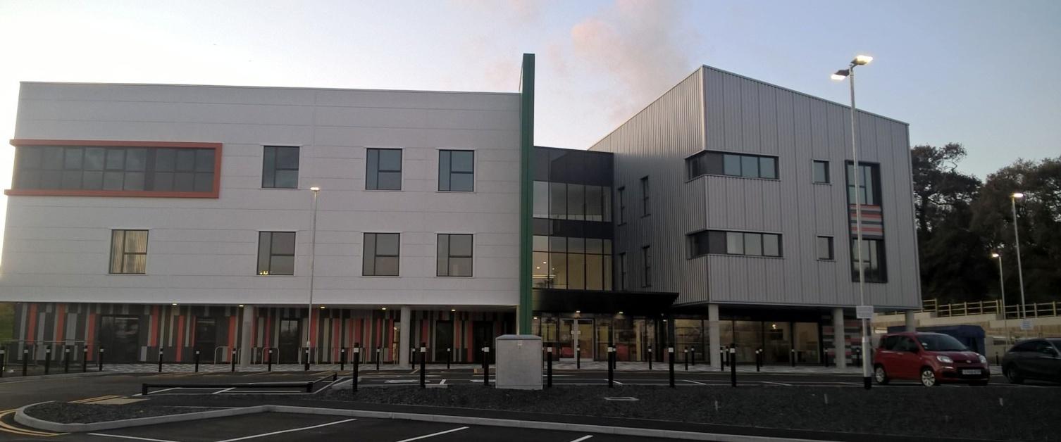 Ceredigion Intergrated Care building