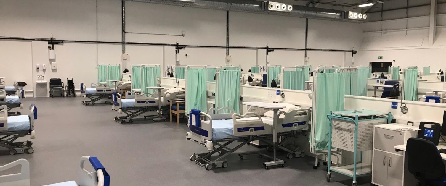 Field Hospital interior