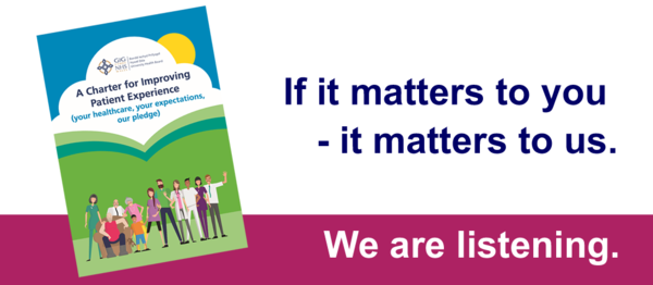Patient Support - If it matters to you, it matters to us. We are listening.