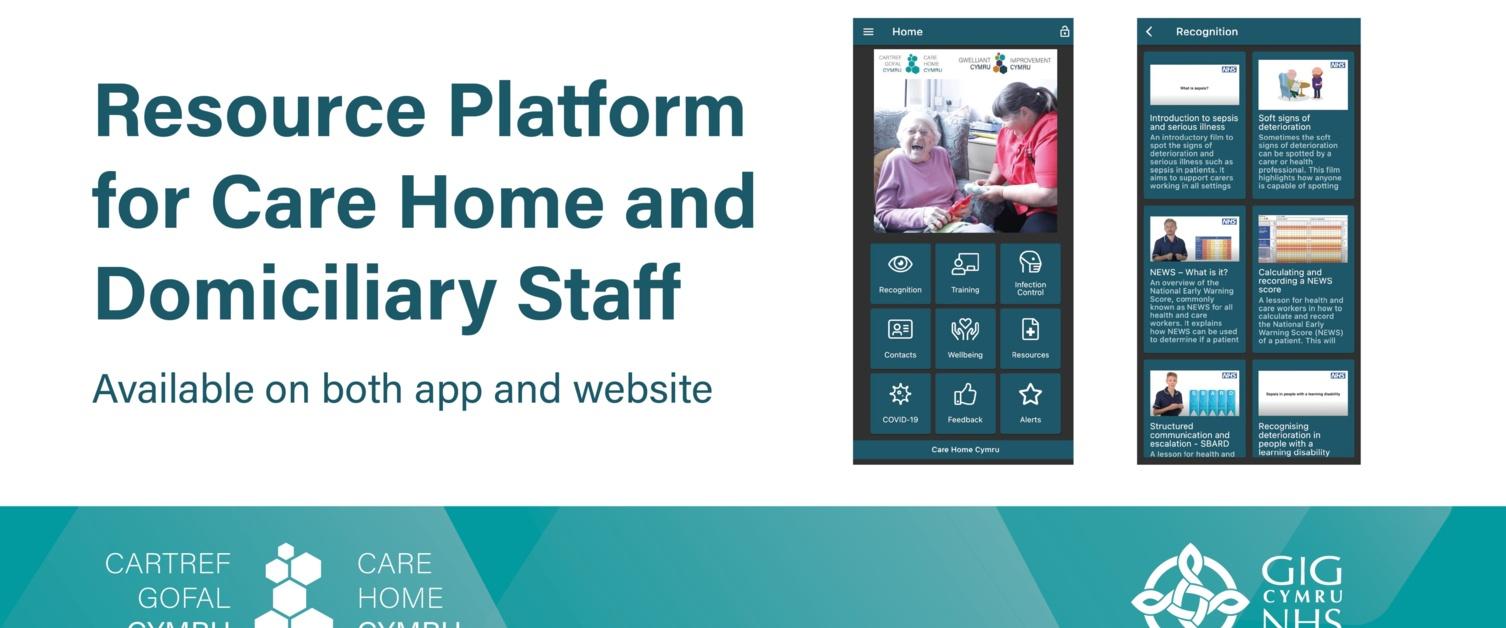 Improvement Cymru new app logo