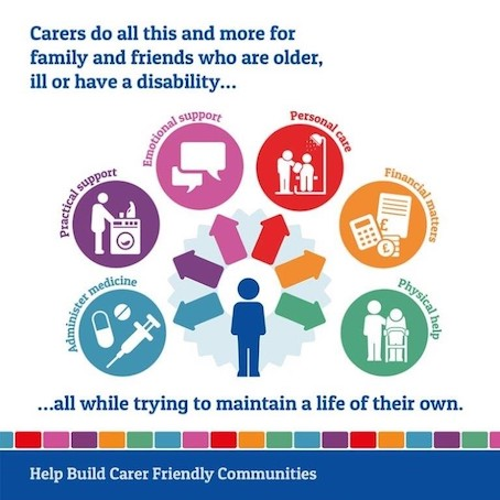 Carers do all this and more for family, friends who are older or have a disability