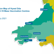 Decorative image – map of mass vaccination locations