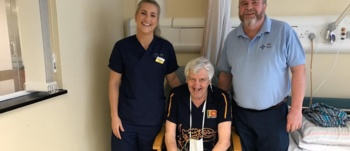 Off duty staff save neighbours life