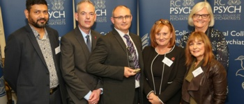 Mental health team receives Royal College recognition