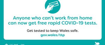 Rapid COVID testing logo