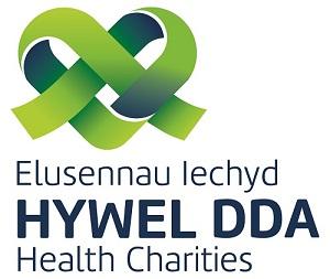 Elusennau Iechyd Hywel Dda Logo