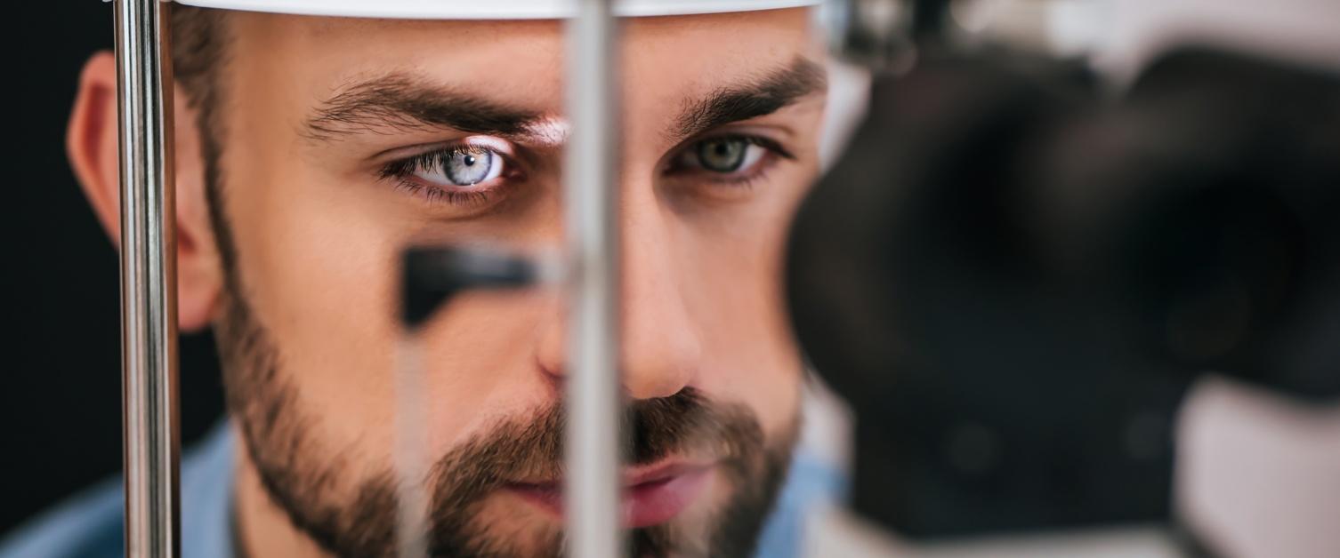 Ophthalmologist test