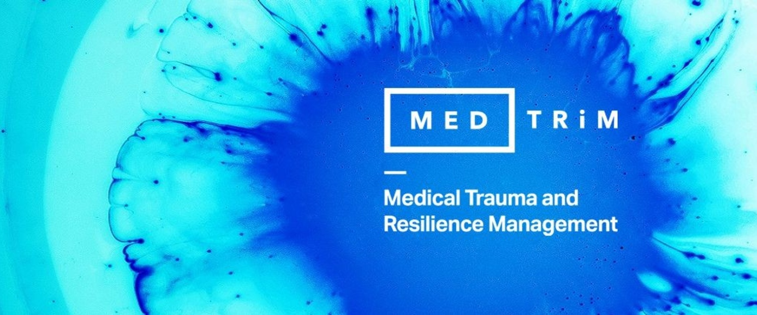 Abstraction of MedTRiM Logo