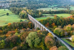 Top view of the Wrexham aqueduct