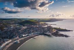 landscape of Aberystwyth