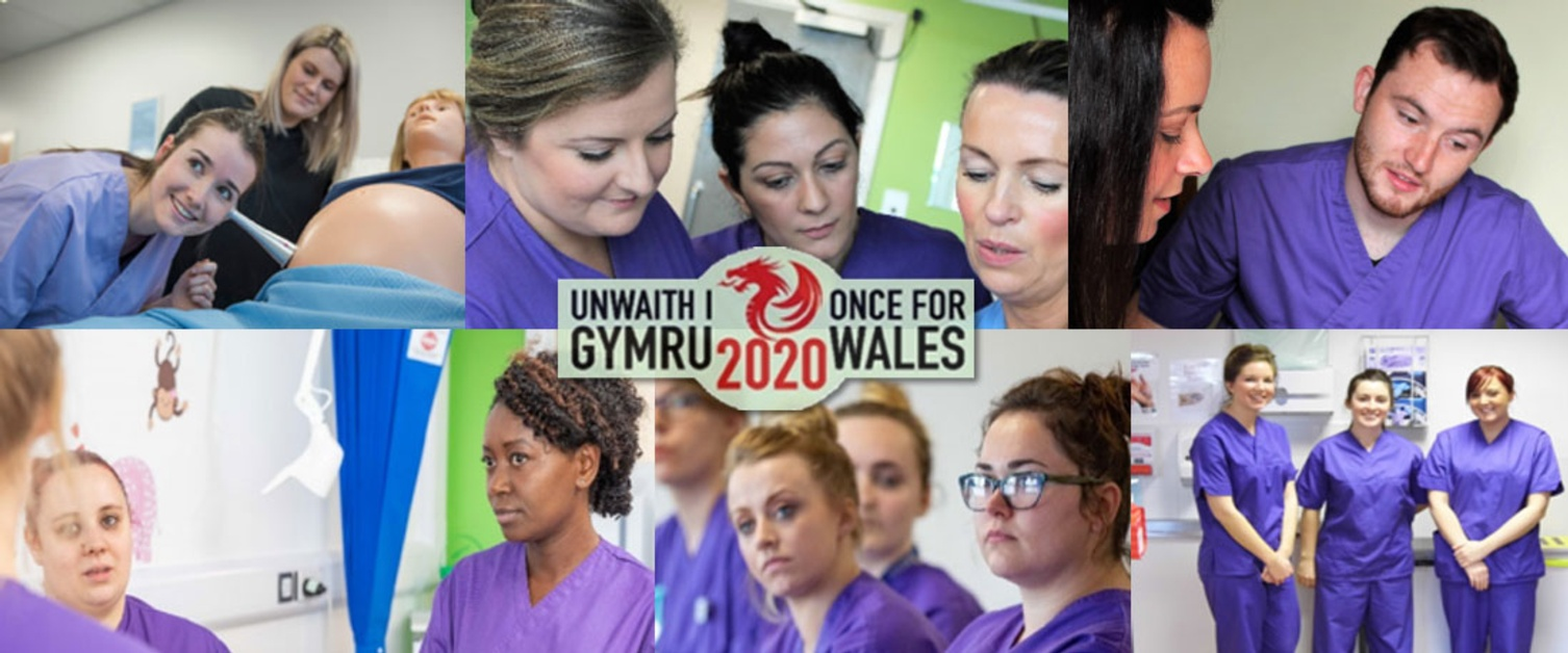 Collage of nurses
