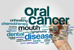 Oral cancer poster