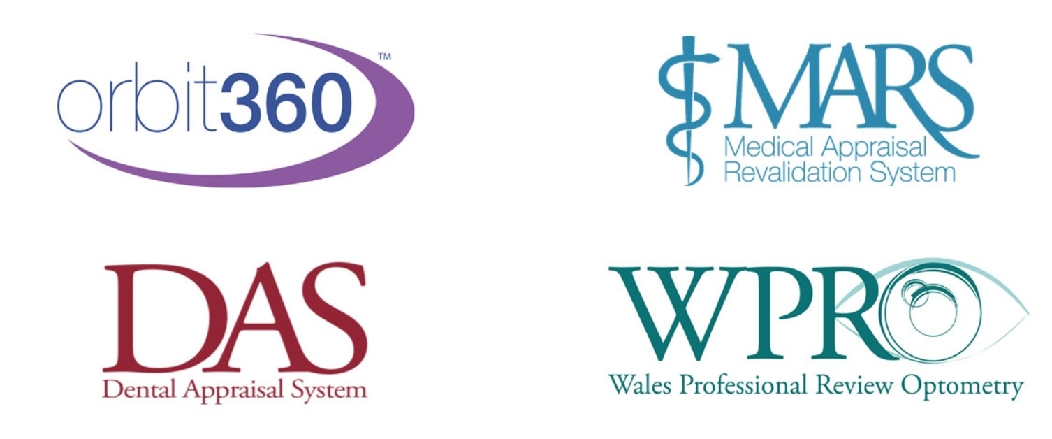 Logos of the online resources