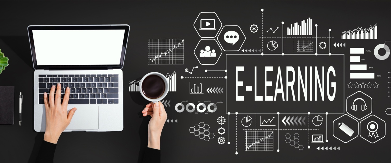 Abstraction of an e-learning platform