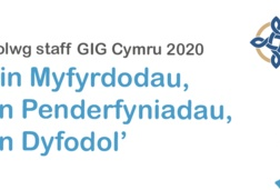 Logo NHS Wales staff survey