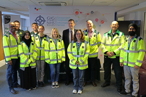 Neil Kitching and community first responders