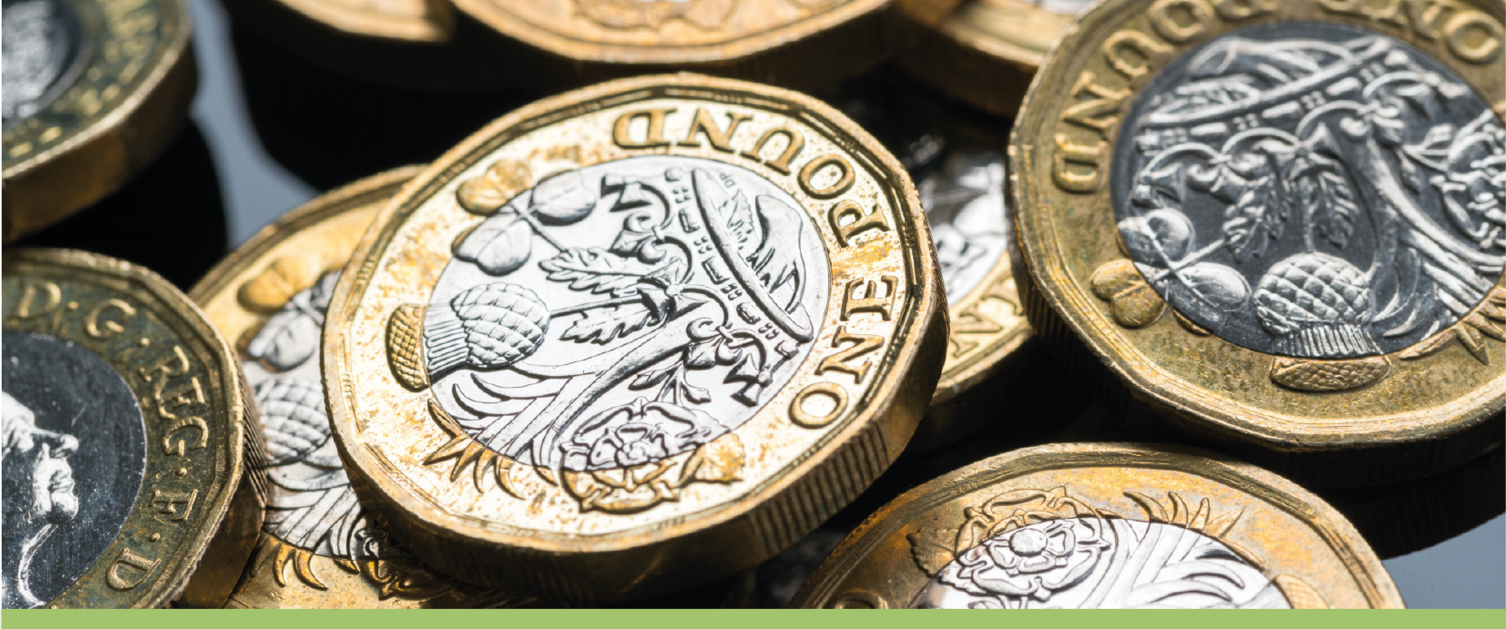 One-pound coins