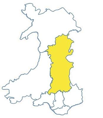 Wales area icon POWYS