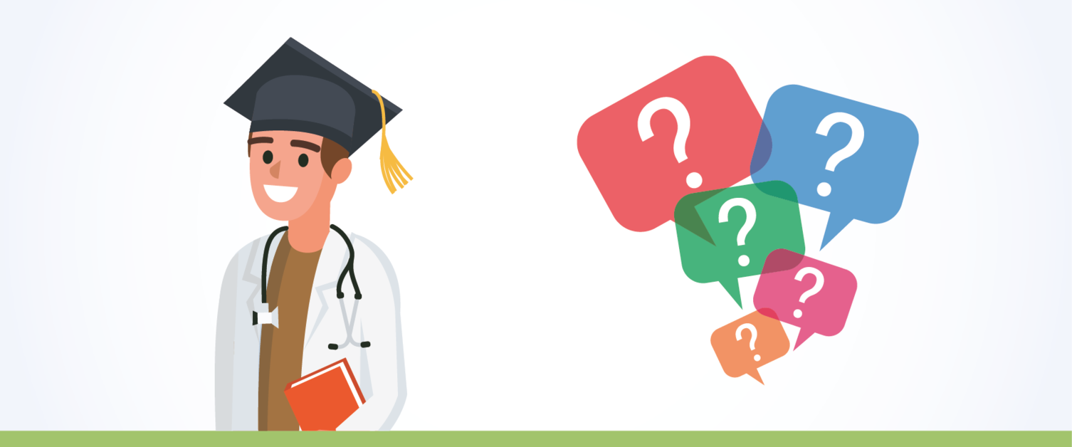 Graduate doctor and FAQ messages