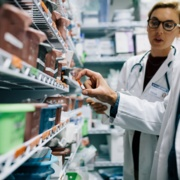 pharmacists assessing safety