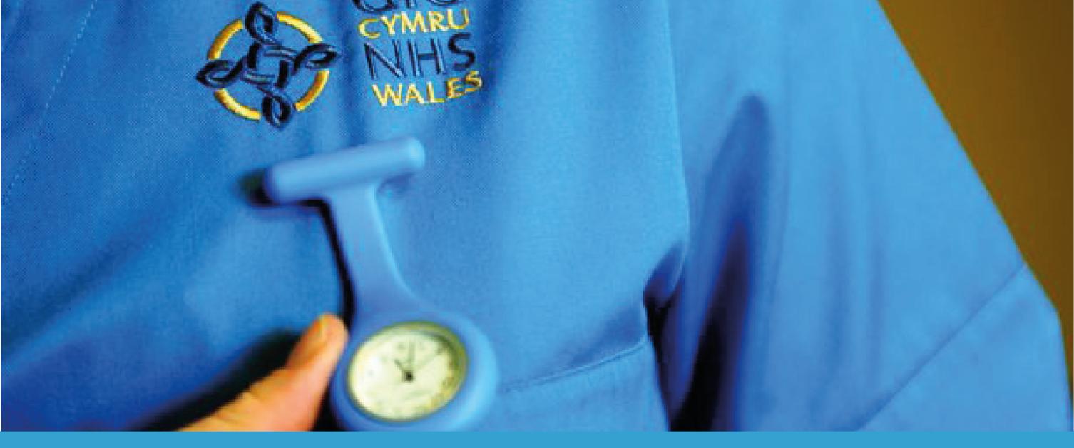 NHS Wales Nurse uniform / Gwisg nyrs GIG Cymru