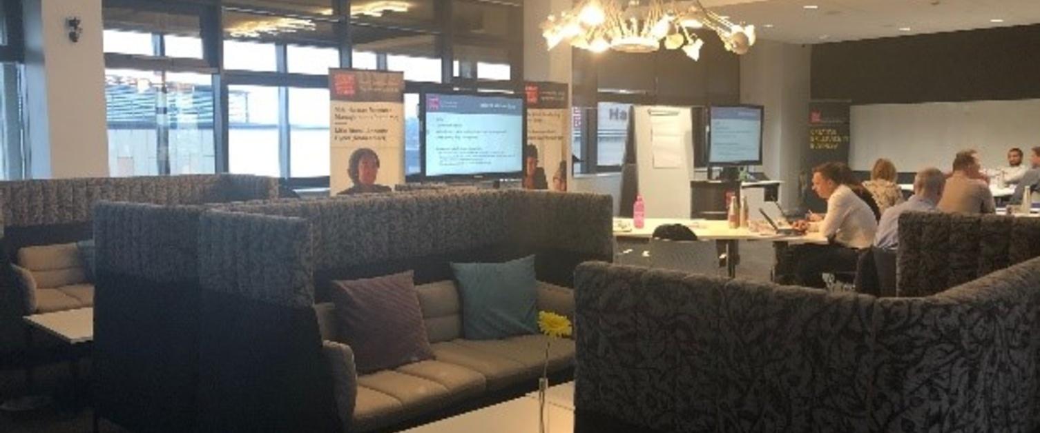 Cardiff University lounge