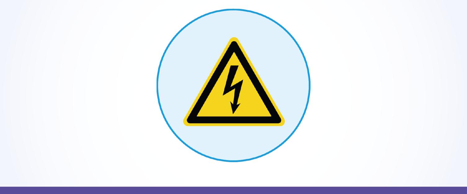 High Voltage Hazard Alerts (HVHA) Icon