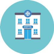 Wales hospital icon
