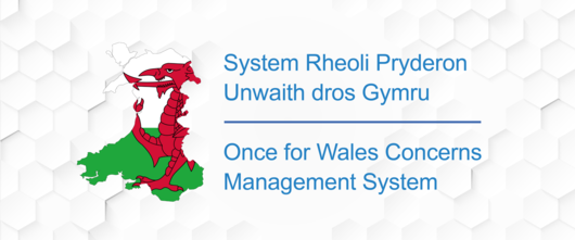 Once for Wales Concerns Management System Background