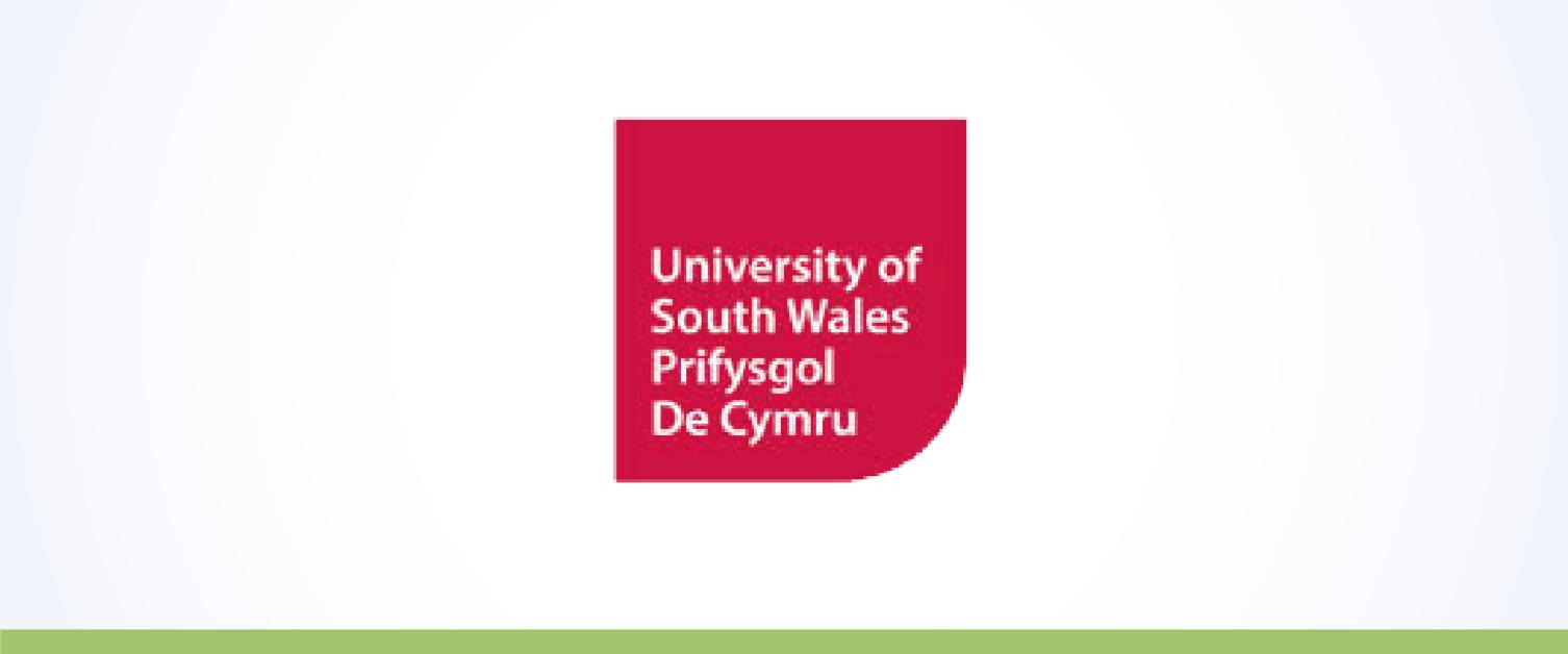 Logo Prifysgol De Cymru
