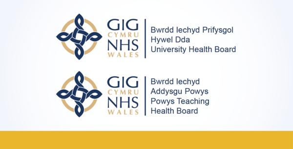 Hywel Dda and Powys logo