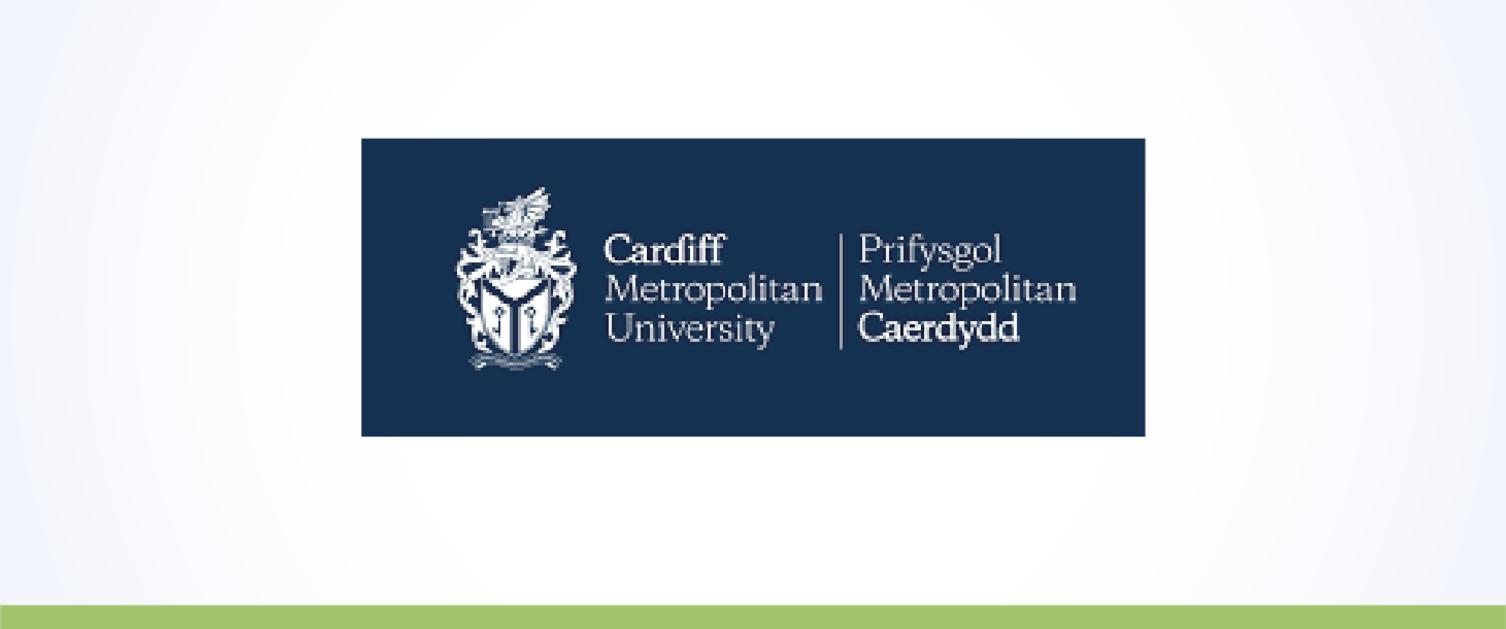 Logo Prifysgol Metropolitan Caerdydd