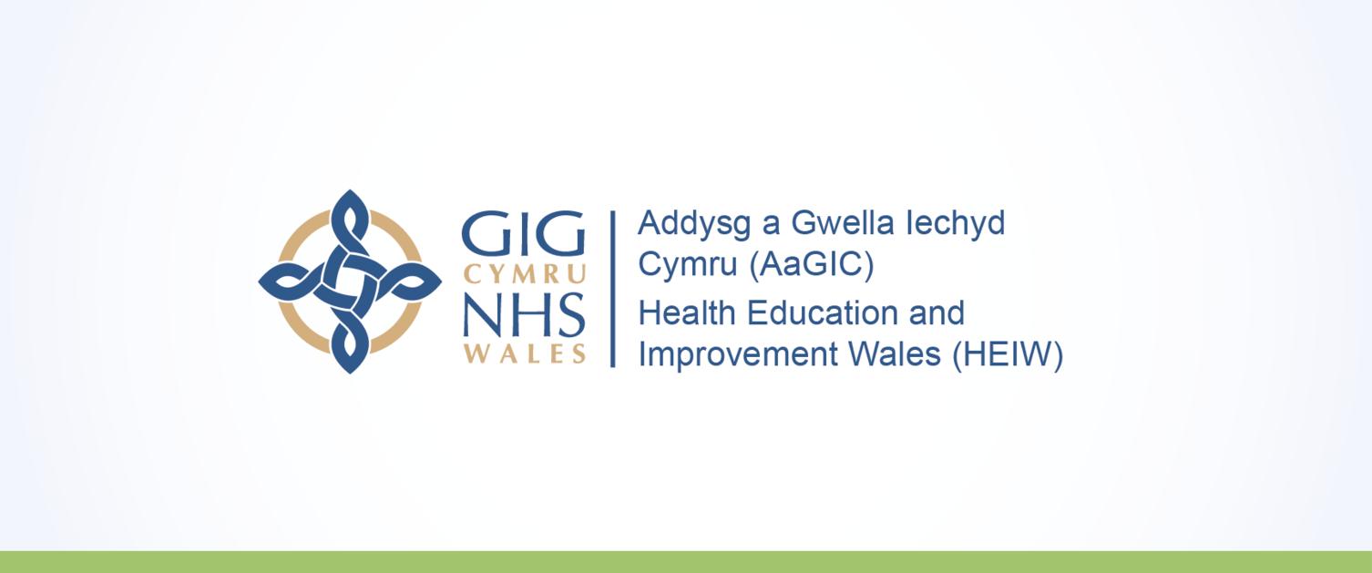 Logo Addysg a Gwella Iechyd Cymru