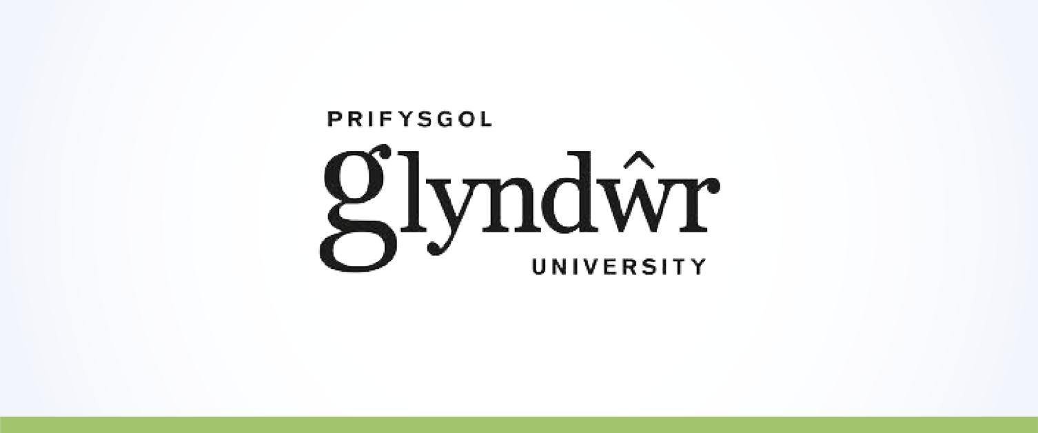 Logo Prifysgol Glyndŵr