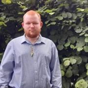 Powys Health and Care Academy Kickstart Scheme student Rhys Warburton.