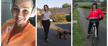 Photo montage ofStefanie Waddington-Gries,Marian Jacques and Myfanwy Taylor