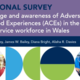 New survey shows both good Welsh public sector awareness of Adverse Childhood Experiences (ACEs) and opportunities for improvement