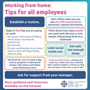 Home Working Guidance - employees