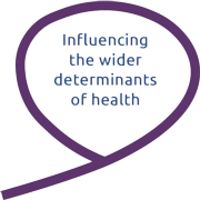 Influencing the wider determinants