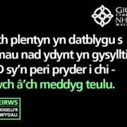 Business as usual Twitter asset - Welsh: 4