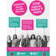 Stop Cancer Before it Starts Poster