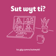 How are you doing Socially - Image (Cymraeg)