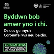 Business as Usual post for Facebook & Instagram - Welsh: 7