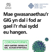 Business as Usual post for Facebook & Instagram - Welsh: 1