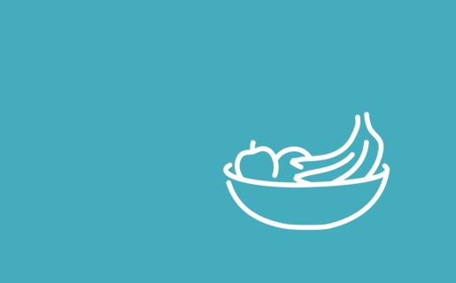 Illustration of fruit bowl